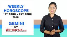 #Gemini - #Weekly #Horoscope for 17th to 23rd #April 2016 #astrology #Zodiac