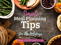 Need simple meal planning tips for the holidays? The last six weeks of the year should be simple, quick, frugal and super easy in the kitchen.