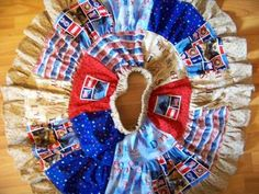 4th of july marine twirl skirt patriotic fourth of july patchwork skirt