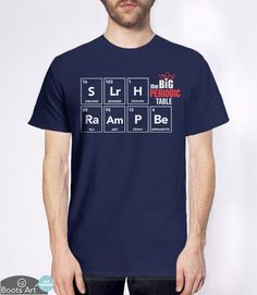 """""""The Big Bang Periodic Table"""" Big Bang Theory Hoodie 