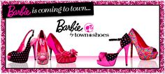 Barbie by Town Shoes: *Exclusively sold at Town Shoes