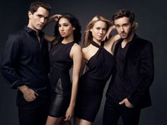 Being Human SyFy - New Farewell Cast Photo w/ Sam Witwer Meaghan Rath Kristen Hager Sam Huntington