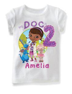 Doc McStuffins Birthday Shirt by BbrambleBshop on Etsy Birthday Board, 4th Birthday, Birthday Shirts, Birthday Parties, Birthday Ideas, Doc Mcstuffins Birthday Party, Party Themes, Party Ideas, Personalized Shirts