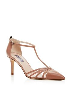 24e4a89649795f SJP by Sarah Jessica Parker Carrie T Strap Pointed Toe Pumps Shoes -  Bloomingdale s