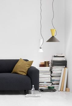 Luca Nichetto's innovative modular Alphabeta pendant lamp for Hem