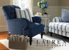 Willowwood Road Elmset chair | From Lauren Ralph Lauren exclusively at Havertys