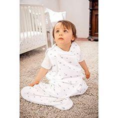 GLOOP Sac de couchage en coton bio pour bébé (Blanc)