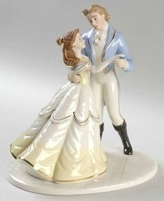 Princess Belle wedding topper