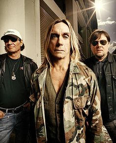 Iggy and the Stooges Reunion Photo