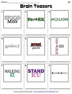 Thousands of Printable Activities