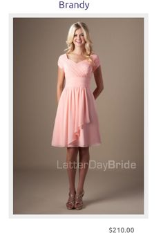 sweet and simple bridesmaids dresses for the modern and modest wedding! #ldswedding #modest #bridesmaid #simple