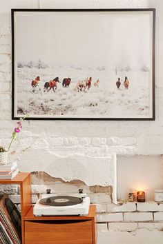Shop Kevin Russ Winter Horses Art Print at Urban Outfitters today. We carry all the latest styles, colors and brands for you to choose from right here. Frames On Wall, Framed Wall Art, Wall Art Prints, Wall Decals, Winter Horse, Different Kinds Of Art, Horse Wall Art, Boat Painting, Painting Art