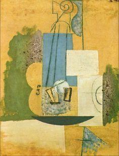 TICMUSart: Violin - Pablo Picasso (1912) (I.M.)