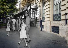 Judy e Kelly le gemelle di James Stewart #rephotography #jamesstewart