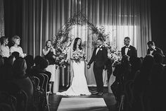 Jessica & Grant's Chic Cargo Hall Wedding