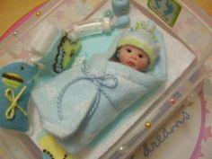 Newborn Baby Dolls, Cute Baby Dolls, Reborn Babies, Cute Babies, Polymer Clay Creations, Polymer Clay Crafts, Barbies Pics, Baby Doll Nursery, Clay Baby