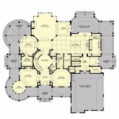 Main Floor Plan - Chastoria, Architects Northwest.  This is the best one I've seen.