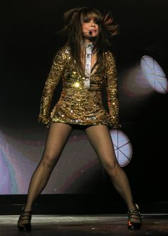 Paula Abdul performing in San Diego, June 1, 2017