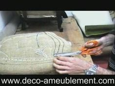 Piqage de siège Cleaning, Chair, Dressing, Couture, Armchairs, Bricolage, Restoration, Furniture, Chairs