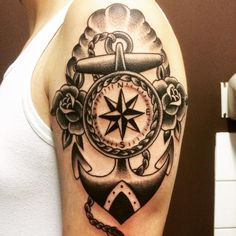 Nautical Arm Tattoo | Best tattoo design ideas