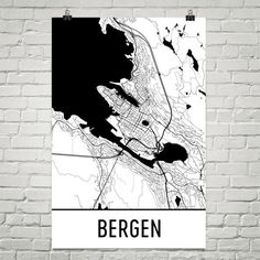 Norway Map Print World Map Print White And Aqua Country Home - Norway map to print