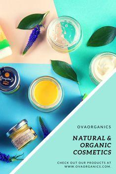 #naturalcosmetics #organiccosmetics #naturalskincare #ovaorganics Natural Cosmetics, Natural Skin Care, Organic, Natural Beauty Products