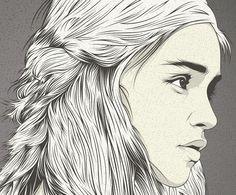 Daenerys Targaryen  |  by CranioDsgn