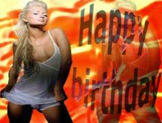Happy Greetings Congrats: Birthday e card Paris Hilton