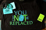 You Can NOT Be Replaced wristbands, tshirts, student packs You Can NOT Be Replaced wristbands, tshirts, student packs Prove it! Cards  national suicide prevention week NSPW14 www.youcannotbereplaced.com