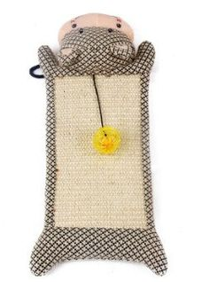 Cat Scratcher Board & Ball Toy For Your Cats - Cove Cotton