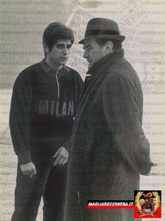 Cliccare sull'immagine per ingrandire rivera Ac Milan, Champions, Big Men, Soccer, Football, Club, Boys, Sports, Vintage