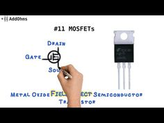 MOSFETs are the most common transistors used today. They are switches that can…