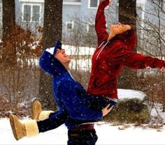 Having this type of love would make winter a lot more enjoyable..
