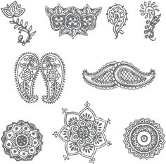 These are a few very simple henna patterns. Description from hdwalls.xyz. I searched for this on bing.com/images