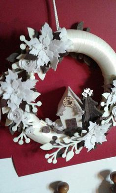 Christmas Wreaths, Xmas, Christmas Ornaments, Burlap Wreath, Holiday Decor, Pallet, Scrap, Christmas Decor, Party