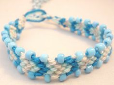 Macramé bracelet with beads Can be bought on www.good2get.nl