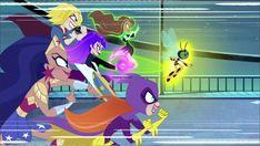 Batgirl, Supergirl, Dc Superhero Girl, Dc Comics, Girls Tv Series, Design Comics, Cartoon Shows, Cartoon Network, Comic Art