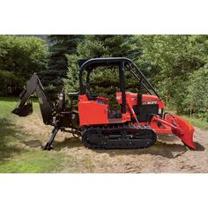 NorTrac 35XTD 35 HP Bulldozer with Backhoe, Put six of these together and you will have a great little strike team