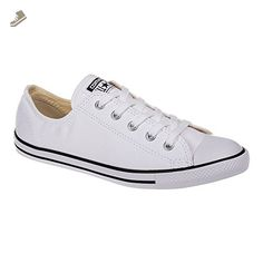 Converse Womens All Star Dainty Shoe - 7 B(M) US Womens, (White Mono) - Converse chucks for women (*Amazon Partner-Link)