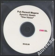 Queen  Pub Renault Megane Synchro Queen One ...