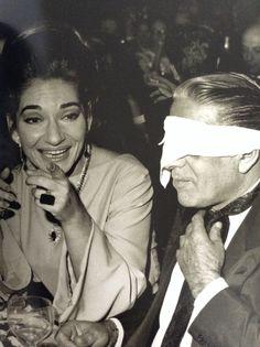 Lido di Parigi Maria Callas e Aristotele Onassis 1966