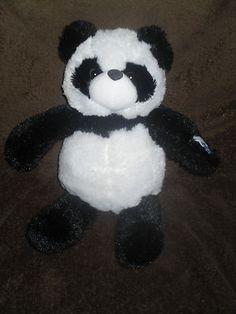 Glo-e Gloe Panda Bear 2005 Cepia Color Kinetics Fiberoptic Light Up 12 inches