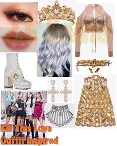 Blackpink Fashion, Kpop Fashion Outfits, Stage Outfits, Korean Outfits, Dance Outfits, Korean Fashion, Cute Outfits, Polyvore Outfits, Beautiful Outfits