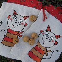 Reusable Tote Bags, Advent, Halloween, Spooky Halloween