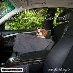 Your Companions can now travel safely and in style with the Animals Matter® Companion Car Seats®