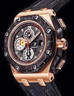 Audemars Piguet Royal Oak Offshore Grand Prix Rose Gold - ref Casio G Shock Watches, Rolex Watches For Men, Casual Watches, Luxury Watches For Men, Cool Watches, Wrist Watches, Men's Watches, Audemars Piguet Gold, Audemars Piguet Watches