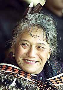 Te Arikinui Dame Te Atairangikaahu, the Maori Queen