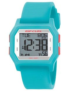 RIP CURL SONIC | A2729G-46 Rip Curl, Plastic Jewelry, Digital Alarm Clock, Casio Watch, Digital Watch, Cool Watches, Birthday Wishes, Waterproof Watches, Aqua