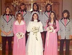 1970's wedding    Fashion Police Files - AWFUL WEDDING DRESSES - 2011