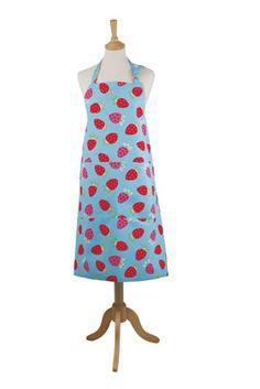 Gorgeous retro apron - Rushbrookes Strawberry Apron